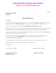 Format Of Job Offer Letter In India Docoments Ojazlink