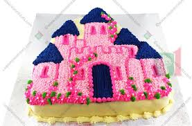 Enchanted Castle Cake Square One Homemade Treats