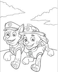 Coloring Pages Paw Patrol Coloring Page Everest Color Fresh