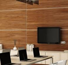 dark walnut wood paneling