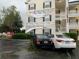 tornado spotted in north myrtle beach
