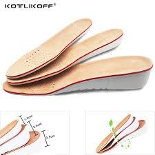 kotlikoff leather insoles height increase insole pigskin shoe pad inserts foot care pad shoe accessories for shoes men women pad
