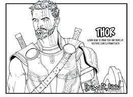 printable marvel coloring pages free superhero