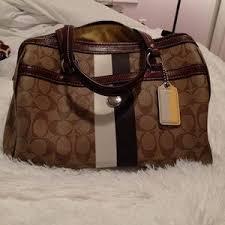 Coach Bags - Coach Monogram Leather Bag