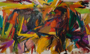finally an exhibition devoted to the women of abstract expressionism elaine de kooning bullfight 1959 oil on canvas 77