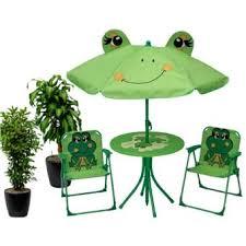Ensemble salon de jardin enfants Table + Parasol + 2 chaises - Table ...