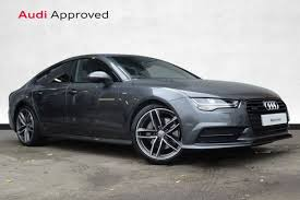 audi a7 blacked out. audi a7 30 tdi quattro 272 black edition 5dr s tronic automatic sportback special editions audi blacked out