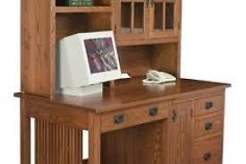 wooden home office. Amish Mission Computer Desk Hutch Solid Wood Home Office Rustic Inside With Plans 4 Wooden L