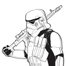 stormtrooper coloring pages star wars coloring pages free