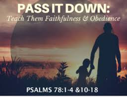 Image result for psalm 78:1