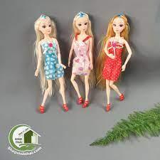 Búp bê tóc dài có 14 khớp - búp bê nữ 30cm