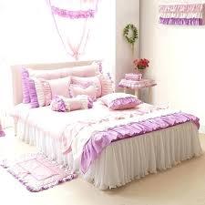 ruffle duvet cover canada white ruffle bedding queen purple pink white girls ruffle full queen size