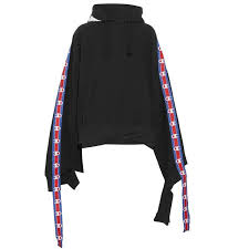 Champion Ribbons! Oversized <b>Long Sleeve</b> Hooded <b>Sweatshirt</b> ...