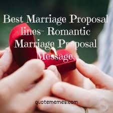 Best Marriage Proposal Lines-Romantic Marriage Proposal Message - Quote  Memes