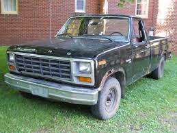 1981 Ford pickup Truck F100 2WD custom 6 Cylinder HD 4speed manual ...