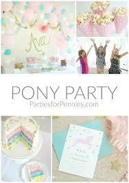 pony party partiesforpennies com my little pony pinkie pie girl birthday