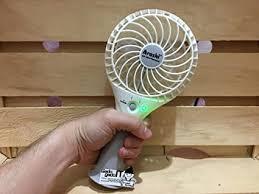 Bulfyss Arashi <b>Plastic Portable Mini</b> USB and Battery Fan (Random ...