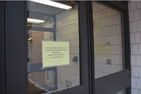 school gym doors. The Main Gym Doors From Lily Courtyard Closed And Locked Oct. 13. School O