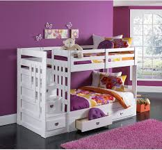 white bunk bed with stairs. Modern Low Bunk Bed White Bunk Bed With Stairs .