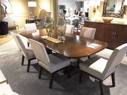 heritage brands furniture dining set big. Haven Dining Table In Brunette Finish - As Shown On Display Heritage Brands Furniture Set Big