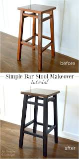 painting bar stools ideas. Simple Ideas Simple Bar Stool Makeover Tutorial Intended For Incredible Home Painted  Wood Stools Ideas To Painting E