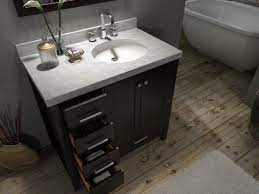 42 Inch Bathroom Vanity With Offset Sink Saving To Show How Mirror Is Centered Over Entire Van 42 Inch Bathroom Vanity Bathroom Vanity 36 Inch Bathroom Vanity