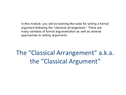 the argumentative essay the argumentative essay notes modified from the virtual learning community 3