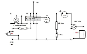 make a simple audio amplifier 10 steps circuit diagram