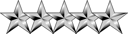 Image result for five stars no background