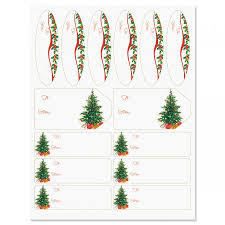 Christmas Tree Labels Classic Christmas Tree Gift Labels