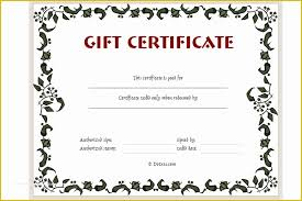 Free Printable Christmas Gift Certificate Template Word Of