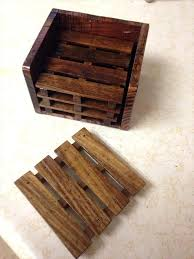 pallet set of 4 coasters pallets how to make wooden diy with pictures how to make wood coasters