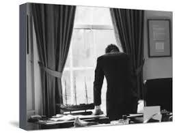 jfk in oval office. President John F. Kennedy In The Oval Office During Steel Crisis Jfk N