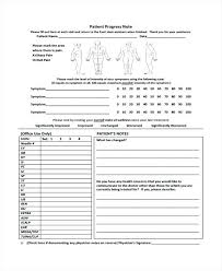 Medical Office Note Template Medical Transcription Chart And Progress Soap Hospital Notes Nhs