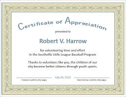 Sample Certificate Of Appreciation Gorgeous Certificate Appreciation Example Copy Appreciation Templ As