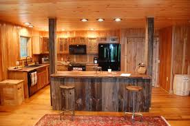 Barn Door For Kitchen Barn Door Style Kitchen Cabinets