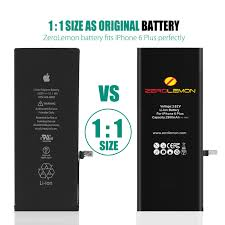 iphone 6 battery size iphone 6 plus internal li ion battery 2900mah shipping to us only