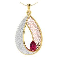 gold pendants in india latest designs zomint