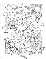 Solar System Coloring Pages Coloringrocks