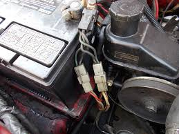 alternator connection problems nissan forum nissan forums when did it start getting hot when you put the positive cable onto the battery when you plugged in the plug or when you connected the main wire to the