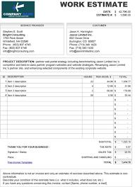 003 Free Construction Estimate Template Ideas Top Excel