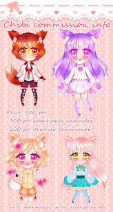 commission sheet chibi commission sheet open by naemin on deviantart