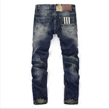 Amazon Designer Jeans Nelliewins Fashion Designer Jeans Men Straight Dark Blue