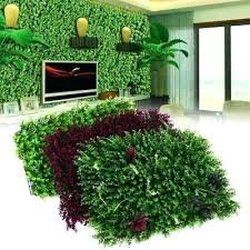 artificial grass wall creative artificial plastic plant flower grass wall panel wedding party venue home decoration artificial grass wall