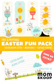 Color pictures of eggs, easter bunnies, baby chicks, easter baskets and more! Free Easter Printable Easter Bunny Letter And More Momskoop