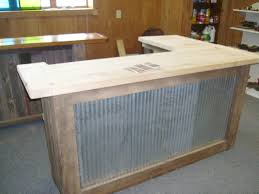 Bar Made Out Of Pallets Rustic Wooden Pallet Bar Pinteres