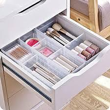 desk drawer organizer. Modren Organizer W Desk Drawer Organizer Tray With Adjustable Dividers MultiDrawers For  Makeups Inside L