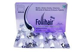 new follihair tablet benefits side
