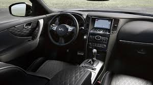 infinity 2017. 2017 infiniti qx70 crossover suv black leather interior infinity n