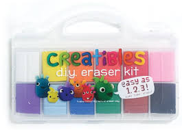 set of 12 creatibles do it yourself erasers 879426005605 item barnes noble